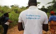 Concern staff member in Sierra Leone. Photo: Jennifer Nolan /  Concern Worldwide.
