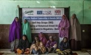 Local women attend a meeting of their Self-Help Group. Photo: Marco Gualazzini/ Concern Worldwide.