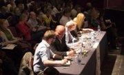 Adjudicators watch on as a debate takes place. Photo: Concern Worldwide.