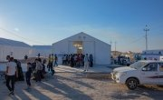 To date, 11,000 people have fled from Syria to this camp in Iraq.