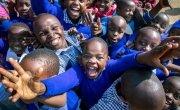 Kids from the Gatoto Community School in Nairobi. Photo: Gavin Douglas.