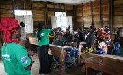 Concern staff delivering a workshop on GBV in DRC.