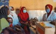 Consultation room at the Integrated Health Centre (CSI) Koufan, Tahoua. Photo: Ollivier Girard / Concern Worldwide