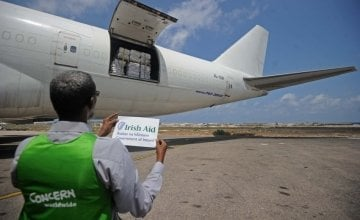 Irish Aid and Concern Worldwide provides emergency aid to Somalia. Photo: Mohamed Abdiwahab/Concern Worldwide