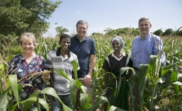 Concern has been carrying out Conservation Agriculture programming in Malawi since 2012, with the help of Accenture. Photo: Concern Worldwide.