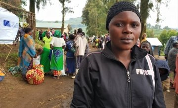 20-year-old Prudence still does not know the whereabouts of her friends from the village. Photo: Marie Madden/Concern Worldwide