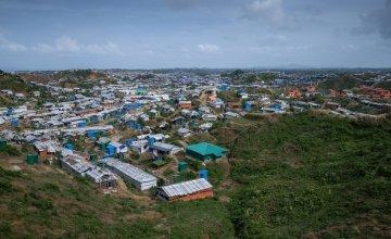 Cox's Bazar Rohingya refugee camp in Bangladesh