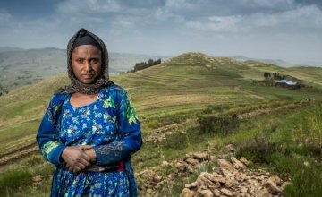 Concern helped Lubaba to protect her land from flooding