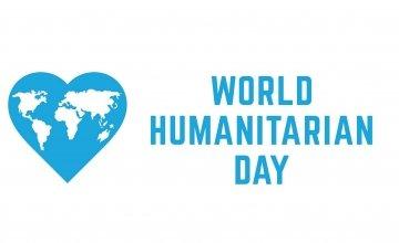 World Humanitarian Day Logo. Photo: United Nations.