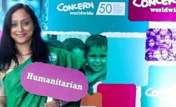 Hasina Rahman has been working with Concern since 2016. Photo: Concern Worldwide.