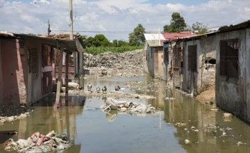 Urgent climate action is needed to protect the world's poorest people. Photo: Kieran McConville / Concern Worldwide.