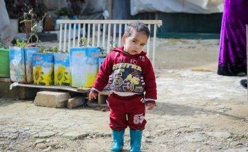 Rana and Ibrahim's little boy Fadi. Photo: Gavin Douglas / Concern Worldwide