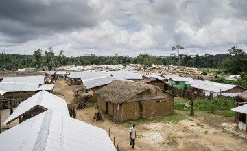 Health centre in Grand Bassa County, Liberia. Photo: Kieran McConville.
