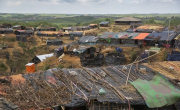 Hakim Para camp in Cox's Bazar, Bangladesh