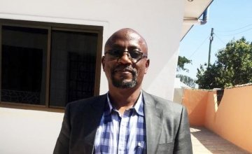 Senior Aid Worker John Shindika Mayeka. Photo: Concern Worldwide.
