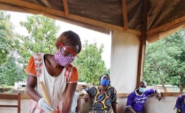 Concern is working to help improve health centres in Central African Republic. Photo: Concern Worldwide.