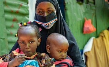 Nasra (23) has two young children. Photo: Ed Ram / Concern Worldwide