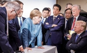 Members of the G7 at the 2018 Summit. Photo: BBC