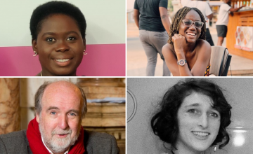 From top left to bottom right: Valery Molay, Shorshor Burgesson , Michael Doorly and Blanche Ellis