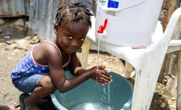 Concern provided water and soap to help protect communities from COVID