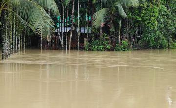 Floods in Cox's Bazaar in Bangladesh