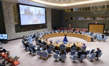 United Nations Security Council meeting room