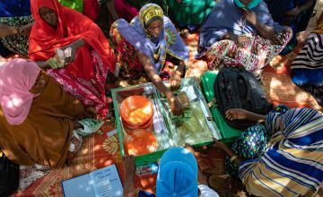 A women's self-help group in Somaliland.