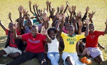 Teenagers taking part in Concern Worldwide's Skillz program in Nkhotakota, Malawi. Photo: Concern Worldwide.