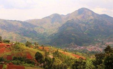 The Mabayi mountains near Mpinga Primary School, Cibitoke Province, Burundi. Photo taken by Irenee Nduwayezu / Concern Worldwide.