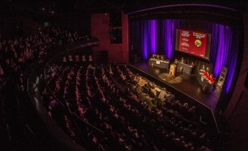 Scenes from the 2016-2017 Concern Debates Final, The Helix, Dublin. Photo: Ruth Medjber / Concern Worldwide