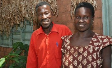 Osilida and Sipriani were both participants in the Women's Social and Economic Rights programme in Tanzania. Photo by Martha Maguire, 2014.