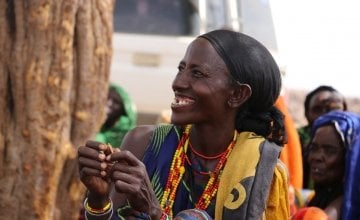 Kulla Dida, 47, from Marsabit County Kenya. Photo credit: Joyce Kabue/Oxfam.