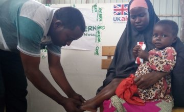Concern's nutrition programme in Somalia is helping people affected by the current drought crisis. Photo: Concern Worldwide.
