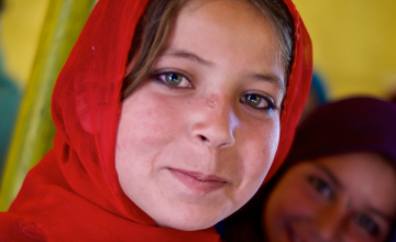 Aisha dreams of being a teacher when she grows up