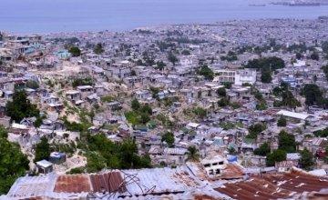 View over Grand Ravine, Port-au-Prince, Haiti. Photo: Kieran McConville / Concern Worldwide.