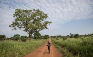 A Concern beneficiary in Pader, Uganda. Photo: Darren Vaughan / Concern Worldwide.