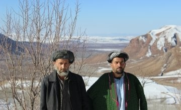 Villagers from Kozur in the north east of Afghanistan.