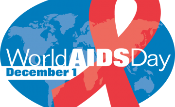 World AIDS Day is on 1 December every year. Its objective is to raise awareness of the AIDS pandemic caused by the spread of HIV infection.