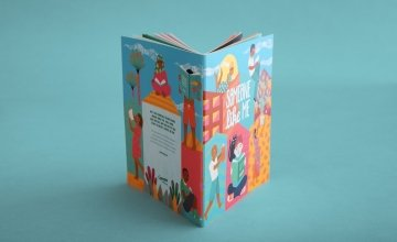 Someone Like Me cover is illustrated by London-based artist Margaux Carpentier. Photo: Finn Richards/Concern Worldwide.