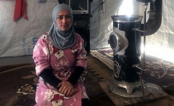 Fatima escaped from Syria to Lebanon. Photo: Concern Worldwide