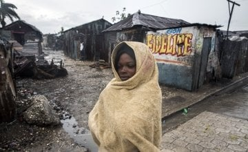 Concern responded to crisis in Haiti after Hurricane Matthew. Photo: Concern Worldwide