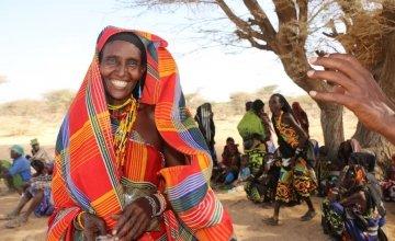 Tumme, Abudho, 40, from Marsabit County, Kenya. Photo Credit: Joyce Kabue/Oxfam.