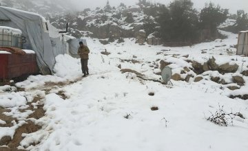 The New Year brought new challenges for Syrian families living in northern Lebanon. Photo: Concern Worldwide.
