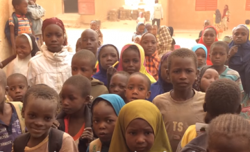 Students in Niger who are benefitting from the 'Innovation Education' programme. Photo: Concern Worldwide.