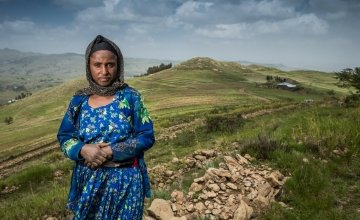 Lubaba can grow enough food to feed her family