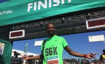 Uzo Nwankwo is running the Dublin Marathon for Concern. Photo: Uzo Nwankwo