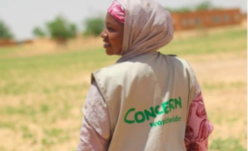 Marie Dounka, Water and Sanitation Officer, Concern Worldwide, Niger Photo: Jennifer Nolan