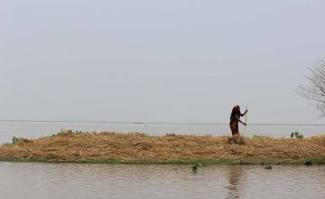 Poor communities in the Bay of Bengal are demanding action on climate change. Photo: Concern Worldwide.