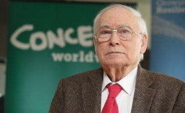 Concern Worldwide's co-founder John O'Loughlin Kennedy