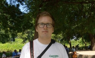 Concern Worldwide photographer Gavin Douglas from Dublin in Malawi where he has witnessed the devestation caused by Cycline Idai. Pic by Samson Mgeni